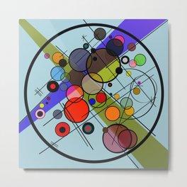 Circles 2 Metal Print