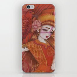 Huo: Vermillion Bird iPhone Skin