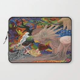 """Realization: Reaching for the Untouchable"" Laptop Sleeve"