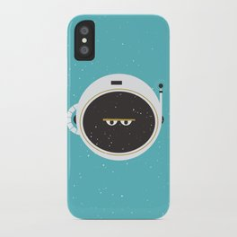 The Spaceman on Earth iPhone Case