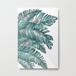 tropical blue Metal Print