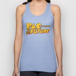 Pac to the Future Unisex Tank Top