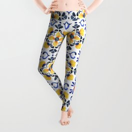 Floral ornament. Watercolor Leggings