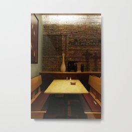 a chicago table Metal Print