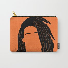 light orange Carry-All Pouch