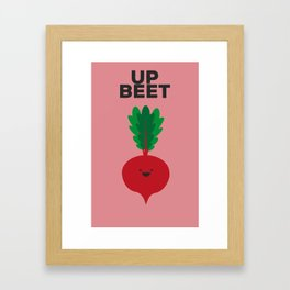 Beet Up Framed Art Print