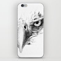eagle iPhone & iPod Skins featuring Eagle by Anna Shell