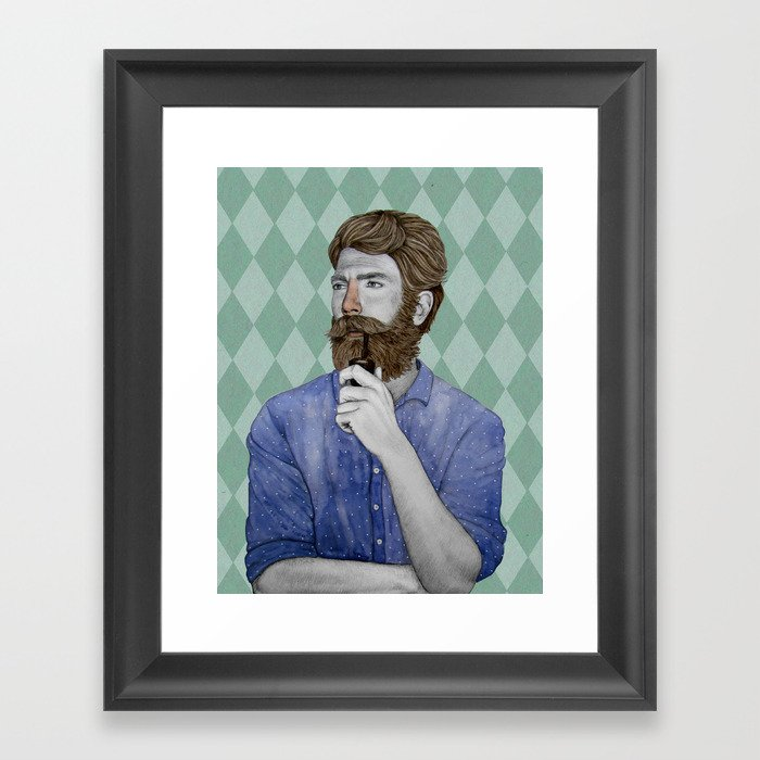 Igor Framed Art Print