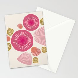 Vintage Floral Light Stationery Cards