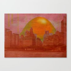 sweet sour greeting Canvas Print