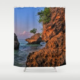 Capturing Bali Colors Shower Curtain
