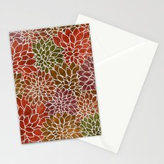 Floral Abstract 31 Stationery Cards
