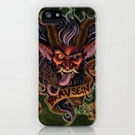 Red Krampus iPhone Case