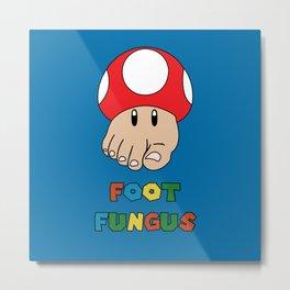 Foot Fungus Metal Print
