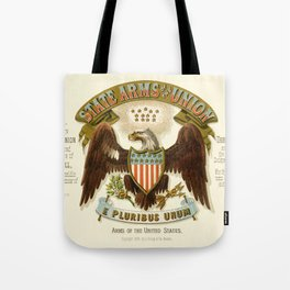 State arms of the union / 1876 Tote Bag