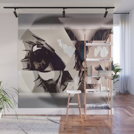 BEAUTIFUL PSYCHO Wall Mural