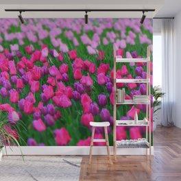 Tulips flowers Wall Mural