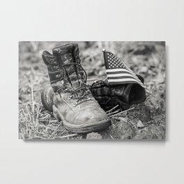 American Worker 3 Metal Print
