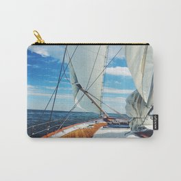 Sweet Sailing - Sailboat on the Chesapeake Bay in Annapolis, Maryland Carry-All Pouch