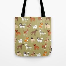 AFRICAN DOGS Tote Bag