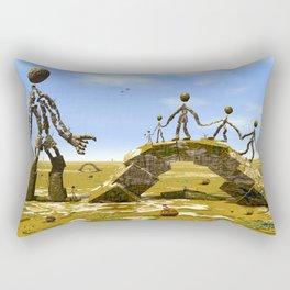 Die Wanderung Rectangular Pillow