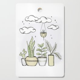 Never Enough Plants Cutting Board