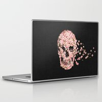 death note Laptop & iPad Skins featuring A Beautiful Death  by Terry Fan