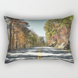 Fall scene near Babcock State Park in Fayette County West Virginia Rectangular Pillow