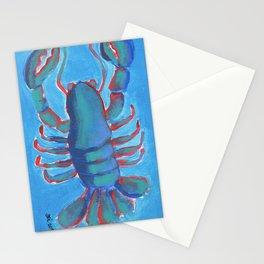 Lobster NY1B, 3 Stationery Cards