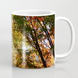 Through the Trees in October Coffee Mug