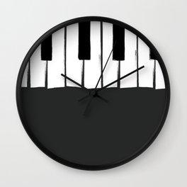 Piano Love Wall Clock