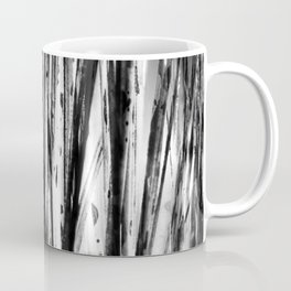Black and white straws illusion Coffee Mug