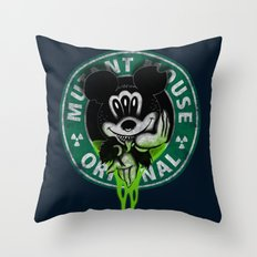 Mutant Mouse Throw Pillow