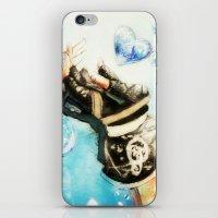 kingdom hearts iPhone & iPod Skins featuring Kingdom Hearts _ Sora  by KhalilKhalidy