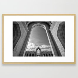 Sultan Qaboos Grand Mosque (Muscat, Oman) Framed Art Print