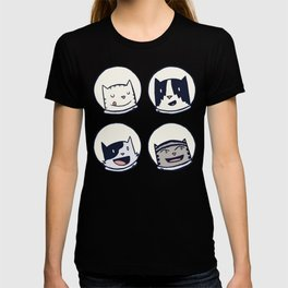 CatStronauts Team Heads T-shirt
