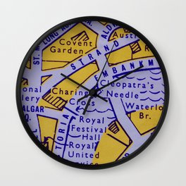 Streets of London Wall Clock
