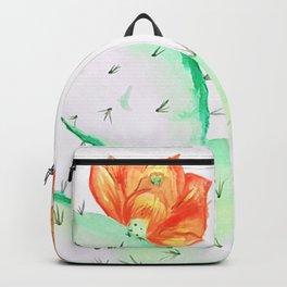 Opuntia cactus Backpack
