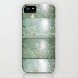 super sampled: water iPhone Case