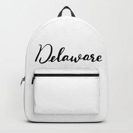 Delaware (DE; Del.) Backpack