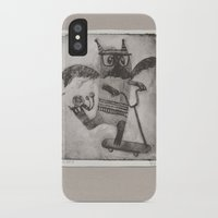 sport iPhone & iPod Cases featuring Sport cat by KRADA ZHAN ART