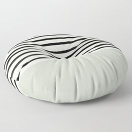 Coastal Breeze x Stripes Floor Pillow