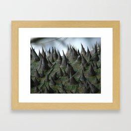 Defense Framed Art Print