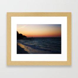 ANNA MARIA ISLAND Framed Art Print