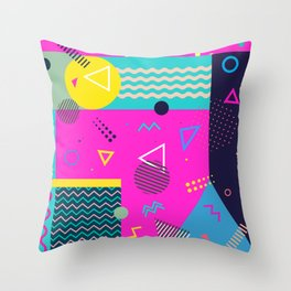 Memphis No1 Throw Pillow