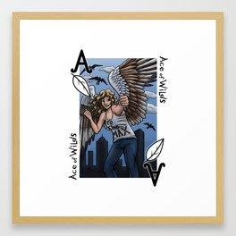 Ace of Wilds Framed Art Print