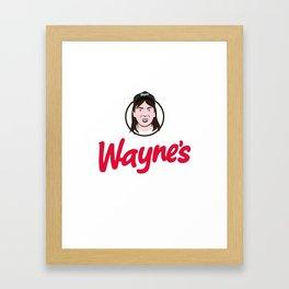 Wayne's Single #1 Framed Art Print