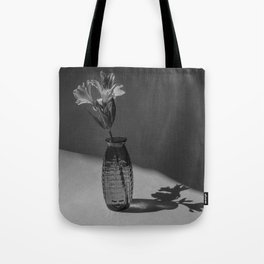 Shadow and flower Tote Bag