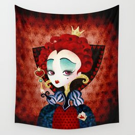 Queen of Hearts Wall Tapestry