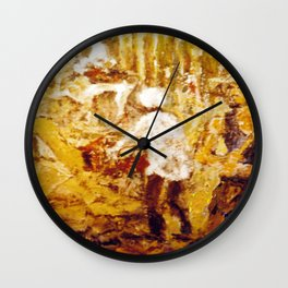 Gold Miners , AUSTRALIA             by Kay Lipton Wall Clock